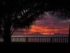 ..der Tag neigt sich - Sonnenuntergang auf der Basis